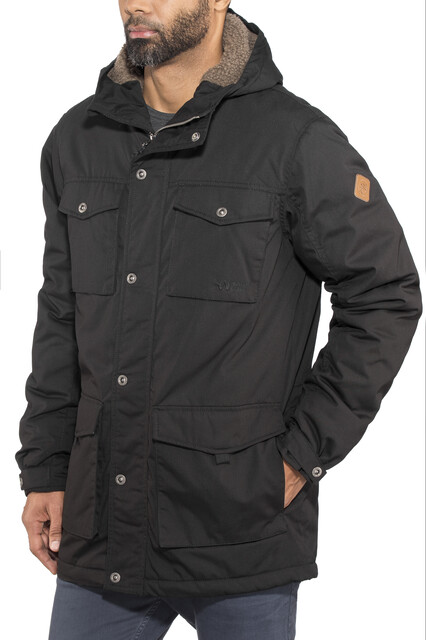 North Bend LMT Parka Heren, black